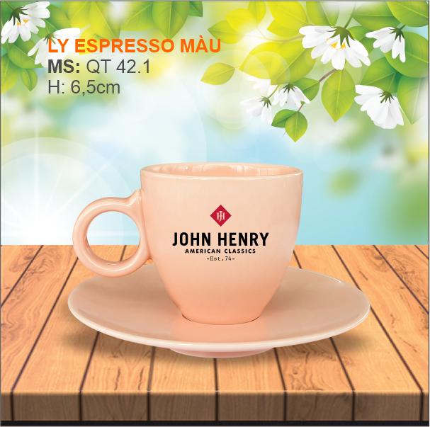 Ly Espresso Màu