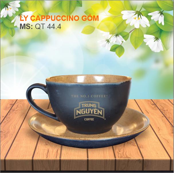 Ly cappuccino Gốm Bát Tràng