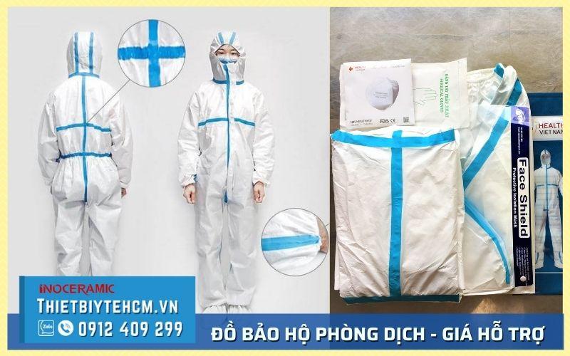 Mua bộ đồ bảo hộ Covid giá bao nhiêu - Nhà cung cấp TPHCM