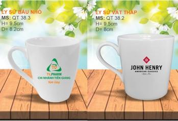 Sản xuất ly, sứ cốc sứ in logo theo yêu cầu – giá rẻ