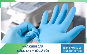 Mua găng tay y tế ở đâu Tphcm - Bao tay y tế giá sỉ hỗ trợ mùa dịch